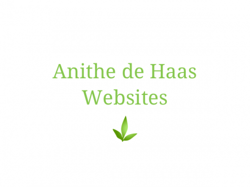 Anithe de Haas websites